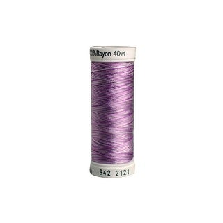 942 2121 Sulky Rayon Thread 40wt 250yd Vari Orchids