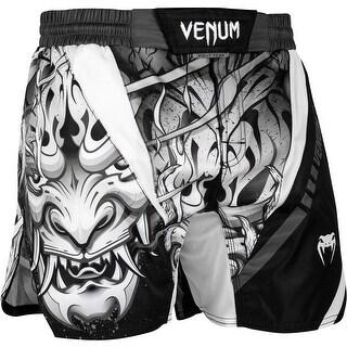 Venum Devil Lightweight MMA Fight Shorts - White/Black