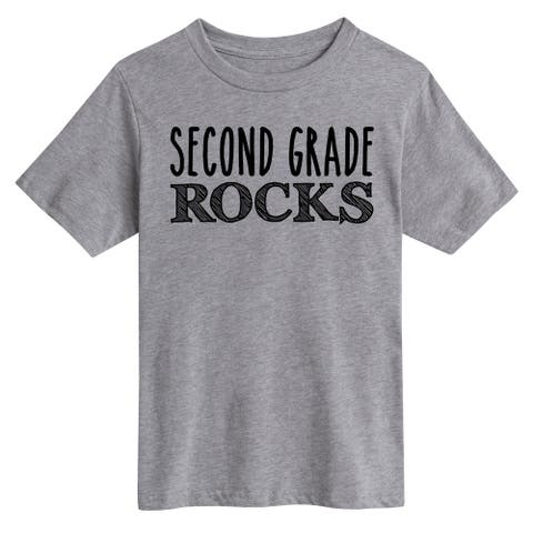 Second Grade Rocks - Youth Short Sleeve Tee