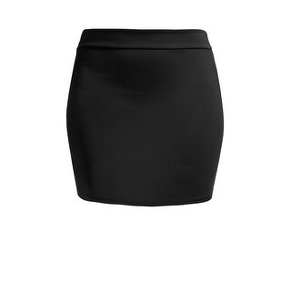 NE PEOPLE Women's Basic Stretch Mini Sexy Pencil Skirt [NEWWSK09]