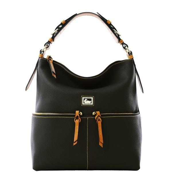 Dooney & Bourke Dillen Medium Zipper Pocket Sac (Introduced by Dooney & Bourke at $288 in Jul 2012) - Black