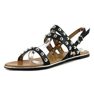 Report Caia Women Open-Toe Synthetic Black Slingback Sandal