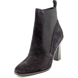 Via Spiga Maila Women Round Toe Suede Ankle Boot