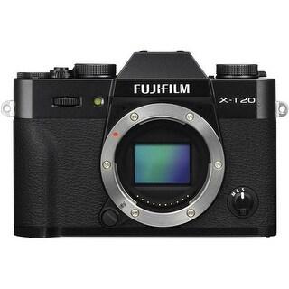 Fujifilm X-T20 Mirrorless Digital Camera (Body Only, Black)
