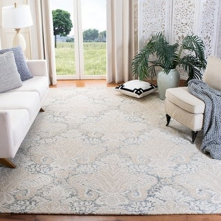 Link to Safavieh Handmade Micro-Loop Doinita Modern Wool Rug Similar Items in Transitional Rugs
