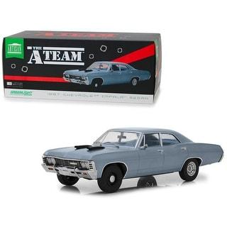 Link to 1967 Chevrolet Impala Sedan Steel Blue The A-Team (1983-1987) TV Series 1/18 Diecast Model Car  by Greenlight Similar Items in Stuffed Toys
