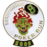 2.75 in. Soft Enamel Lapel Pin in Iron - Pack of 150