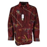 Robert Graham SAMURAI SPIRIT Embroidered Silk Limited Edition Shirt