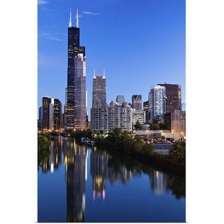 """Chicago, Illinois"" Poster Print"