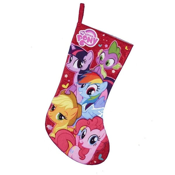 "My Little Pony 19"" Applique Stocking"