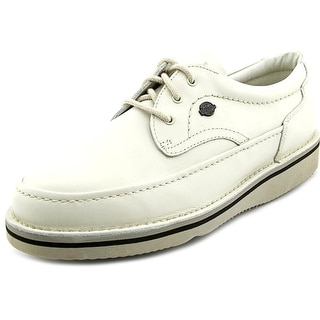 Hush Puppies Mall Walker Men W Round Toe Leather Oxford
