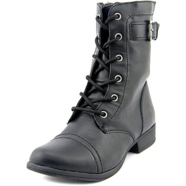 American Rag Faylln Women Round Toe Synthetic Black Boot