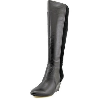 Marc Fisher Dewey Round Toe Synthetic Knee High Boot
