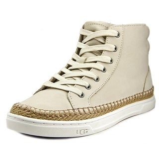 Ugg Australia Gradie Women Leather Ivory Fashion Sneakers