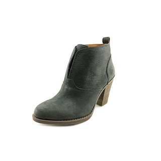 Lucky Brand Ehllen Round Toe Leather Ankle Boot