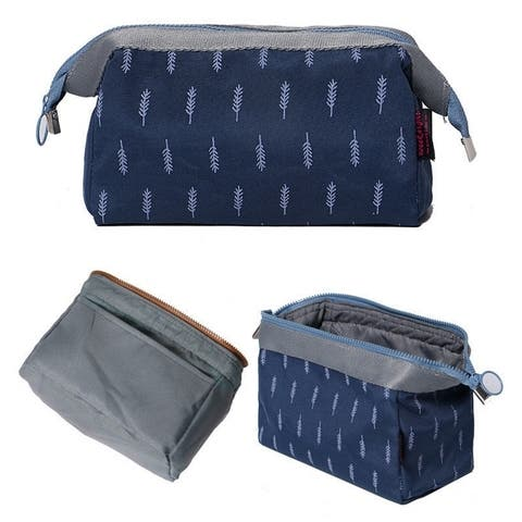 Portable Portable Waterproof Layered Toiletry Cosmetic Bag