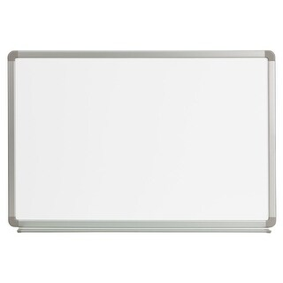 Offex 3' W x 2' H Magnetic Marker Board [OF-YU-60X90-WHITE-GG]
