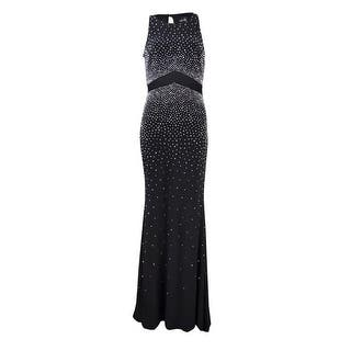Xscape Women's Caviar Bead Illusion-Waist Jersey Gown|https://ak1.ostkcdn.com/images/products/is/images/direct/9c1d1cef2c6d5591024734ac99850fabc151e25f/Xscape-Women%27s-Caviar-Bead-Illusion-Waist-Jersey-Gown.jpg?impolicy=medium