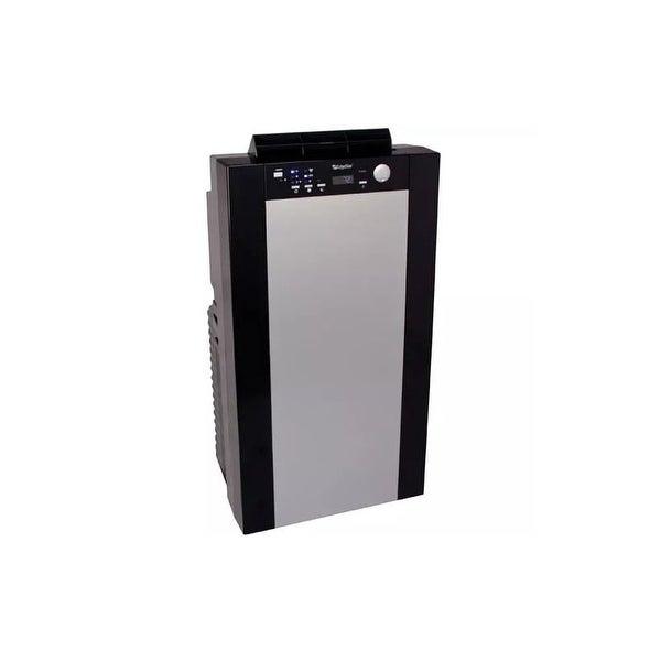 edgestar ap14001hs 14000 btu 115v portable dual hose air conditioner with 14000 btu heater. Black Bedroom Furniture Sets. Home Design Ideas