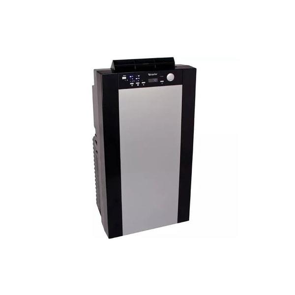 EdgeStar AP14001HS 14000 BTU 115V Portable Dual Hose Air Conditioner with 14000 BTU Heater, Window Mounting Kit and Remote