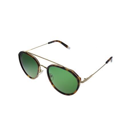 Original Penguin PE Shady TO Unisex Tortoise Gold Frame Green Polarized Lens Sunglasses