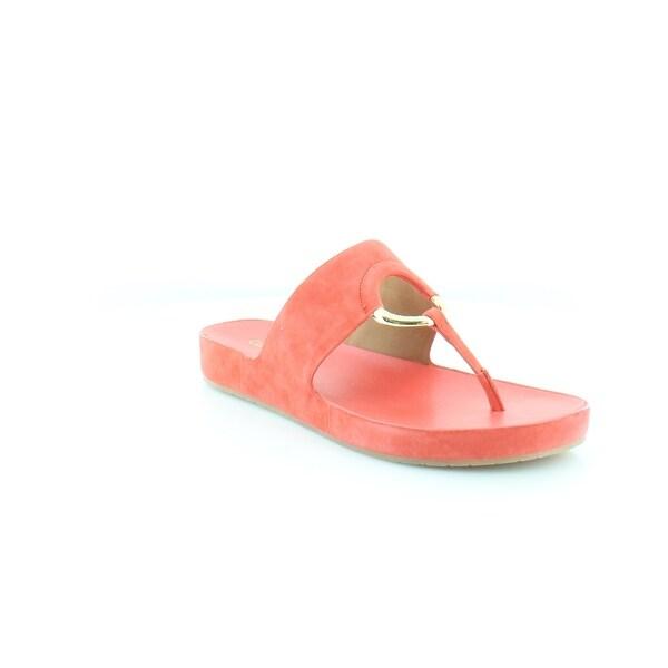 Calvin Klein Mali Women's Sandals Deep Coral - 7.5