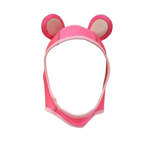 shop scuba choice neon pink with ears scuba wetsuit hood neoprene