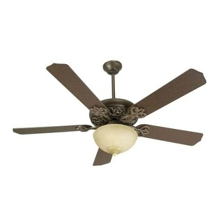 "Craftmade K10617 Cecilia Unipack 52"" 5 Blade Indoor Ceiling Fan - Blades and Light Kit Included"