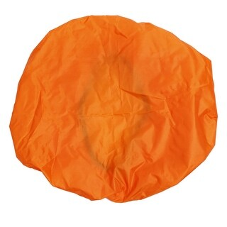 Unique Bargains Wilderness Survival Gear Protective Waterproof Backpack Cover 35L Orange