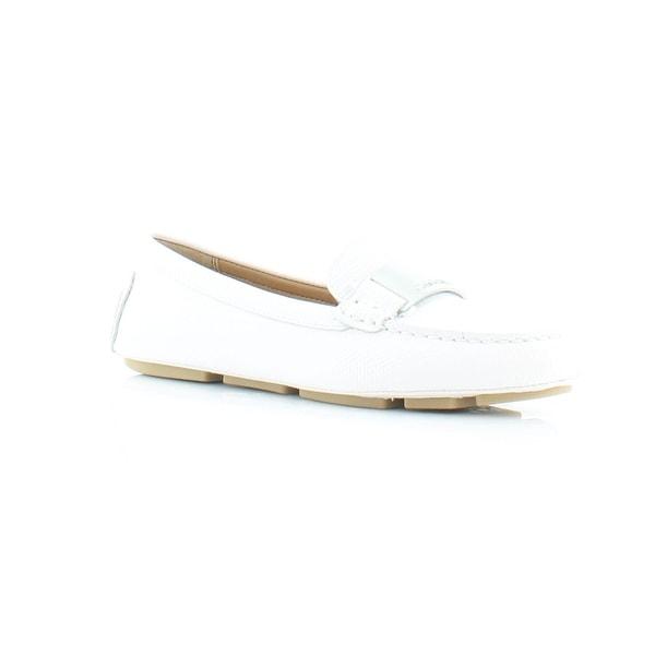 8a3c0576029 Shop Calvin Klein Lisette Women s FLATS White - 5 - Free Shipping On ...