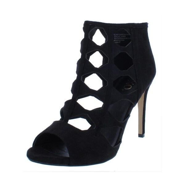 7c8790c6953 Shop XOXO Womens Colbie Dress Sandals Faux Suede Peep Toe - On Sale ...