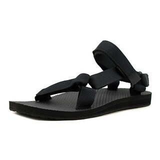 Teva Universal Women  Open-Toe Synthetic Black Sport Sandal