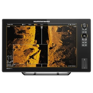 Humminbird SOLIX 15 CHIRP MEGA SI GPS Color Fishing System Combo w/ MEGA Side Imaging