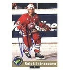 Ralph Intranuovo Edmonton Oilers 1992 Classic Draft Picks Autographed Card Rookie Card This item comes with a certi