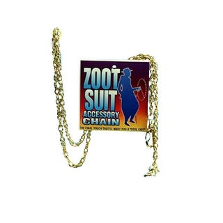 Gold Zoot Suit Chain