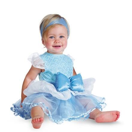 shop cinderella infant girls disney princess baby costume overstock 14674340 12 18 months cinderella infant girls disney princess baby costume