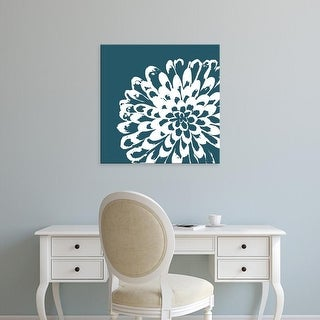 Easy Art Prints GraphINC's 'Graphic Flower I' Premium Canvas Art