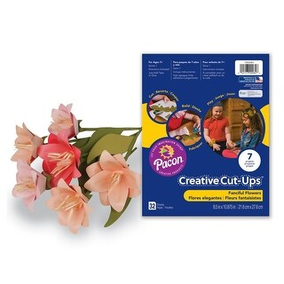 Pacon Creative Cut-Ups Fanciful Flowers