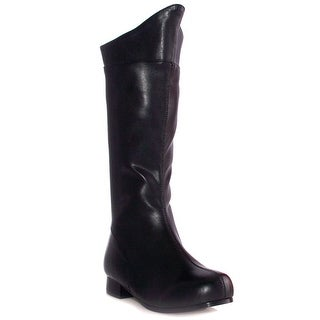 Boys Black Superhero Boots