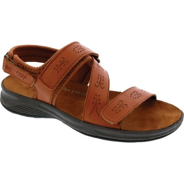 b0bba9682 Shop Drew Women s Olympia Sport Sandal Cognac Leather - On Sale - Free  Shipping Today - Overstock - 20680847