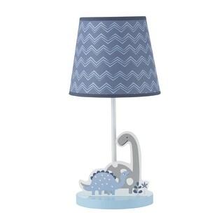 Bedtime Originals Blue Roar Lamp with Shade & Bulb