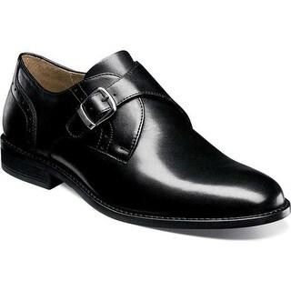 Nunn Bush Men's Sabre Monkstrap Black Leather