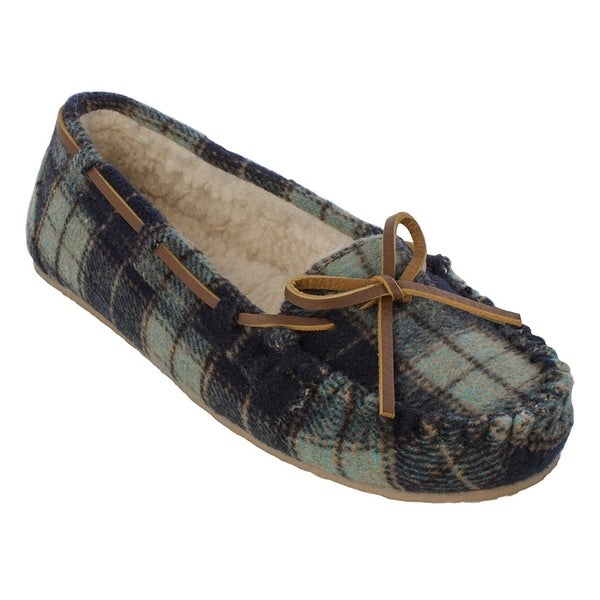3d3a98b17f5 Shop Minnetonka Women s Plaid Cally - Free Shipping On Orders Over  45 -  Overstock - 23131044