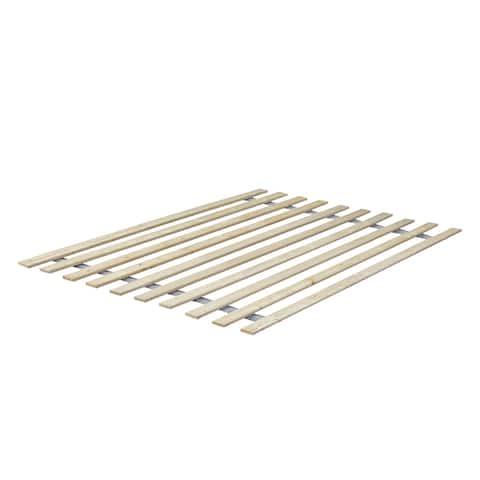 Onetan, 0.75-Inch Heavy Duty Vertical Mattress Support Wooden Bunkie Board/Slats,