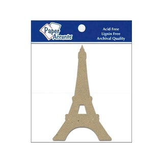 Chip Shape 8pc Eiffel Tower Natural