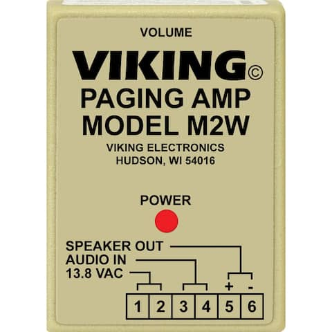 Viking Electronics M2W Paging Products For Electronic Key Phones - Multicolor