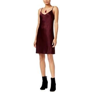 Rachel Rachel Roy Womens Slip Dress Satin Textured - S|https://ak1.ostkcdn.com/images/products/is/images/direct/9c2ca74beb9cdf583a4d915225d5c8284e35c38c/Rachel-Rachel-Roy-Womens-Slip-Dress-Satin-Textured.jpg?impolicy=medium