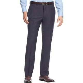 Calvin Klein Mens Dress Pants Wool Extra Slim Fit