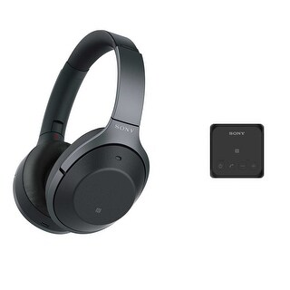 Sony Noise Cancelling Headphones with Bluetooth Speaker Bundle