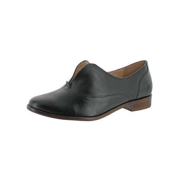 L4L by Lust for Life Womens Nivea Fashion Loafers Leather V-Slit